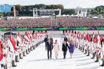 博索纳罗宣誓就任巴西总统 强调恢复经济消除腐败