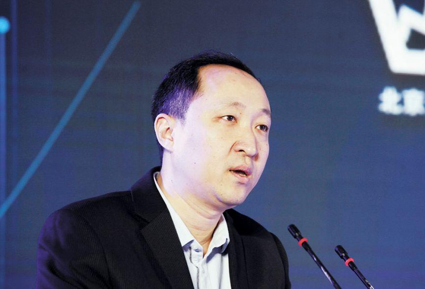 北京商报社常务副总编辑、副社长彭宇代表主办方致辞