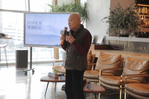 李可染艺术基金会董事长李小可谈到了自己对于木板水印以及非遗传承的看法