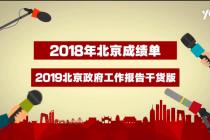 北京政府工作报告干货版:2018年成绩单来了