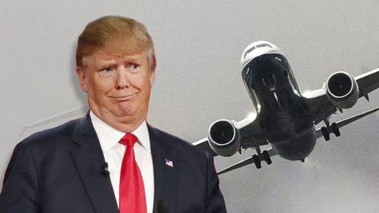 8特朗普 飞机