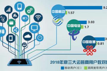 中国电信2018成绩单:流量收入快速增长