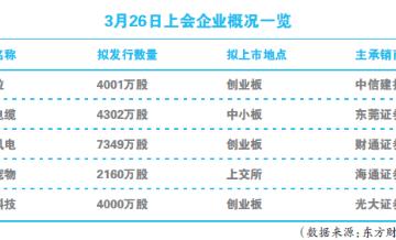 单日5家IPO待审 新发审委审核提速