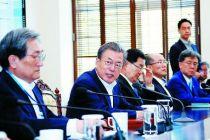 文在寅称推进韩朝领导人再次会晤时机已到