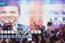 喜剧演员要当乌克兰总统了!波罗申科承认败选:投票结果公平