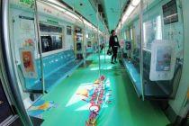 """京港地铁4号线现""""颐和园景观"""""""