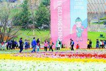 靜候全球賓客 北京進入世園時間