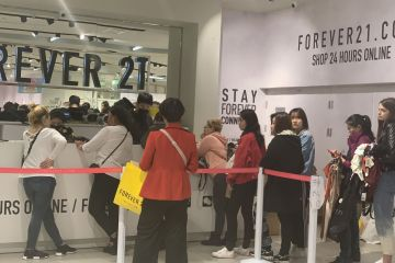 线上渠道将关闭 Forever 21离撤出中国还有多远