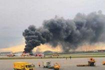 俄航一架SSJ100飞机起火迫降 已有41人遇难