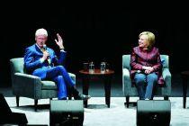美前总统克林顿匹俦巡礼演讲 门票频贬价还被吐槽贵
