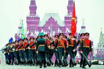 俄罗斯举行纪念卫国战争胜利74周年阅兵式