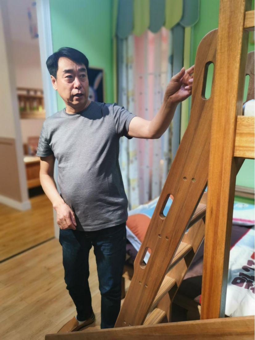 阳光芭比诺董事长王井红和他的真环保儿童家具