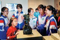 """""""盛世歡歌""""許鴻飛雕塑展在北京開幕"""