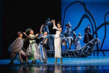 舞剧《刘三姐》在足尖上重现经典