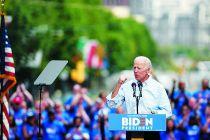 美国前副总统拜登正式启动总统竞选活动