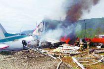 俄罗斯一客机紧急迫降致两名飞行员遇难