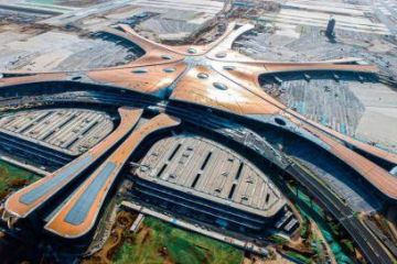 北京大興國際機場主體工程全面竣工 九牧制造亮了