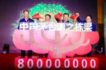 """""""中国茅台·国之栋梁""""公益项目 8年累计捐赠8个亿"""