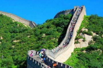 游客承载量已达八成 八达岭长城再启橙色预警