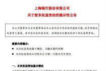 上海銀行再度觸發股價穩定機制  TCL集團趁勢舉牌