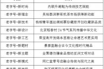 老字號的傳承與創新高峰論壇在京舉行