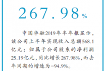 中国华融 上半年净赚25.19亿元