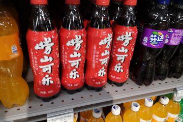 现身京城超市 崂山可乐欲撕地方标签