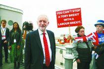 """英工党领袖拒绝表态是否支持""""脱欧"""" 拟大选后定夺"""