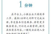 """引入""""抢单模式""""北京小微企业金融综合服务平台启动"""