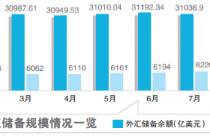 供求基本平衡 外储年内增加197亿美元