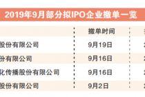9月14家企业终止IPO 创年内单月新高
