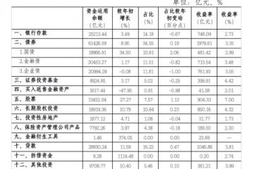 """前三季险资投资经:增配债券""""稳""""字当先"""