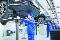 270辆辉昂整装待发服务第二届中国国际进口博览会