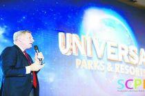 北京环球度假区总裁苗乐文:  北京环球度假区将呈现七大主题场景