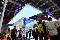 AGC進博會展出超20件最尖端產品