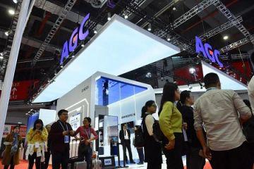 AGC进博会展出超20件最尖端产品