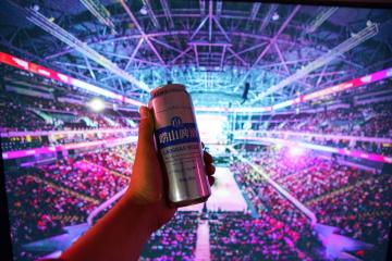 CBA敢梦敢当   崂山啤酒为精彩举杯