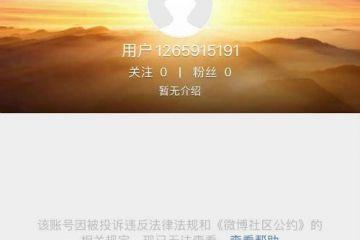 波场创始人孙宇晨和币安联合创始人何一微博被封