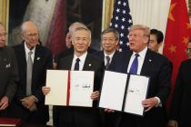 妥了!中美正式签署第一阶段经贸协议