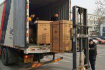 百世集团免费承运价值近300万的医疗器械设备送武汉