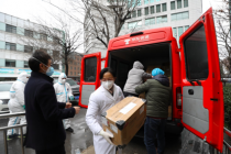 京东捐赠100万只医用口罩已到位