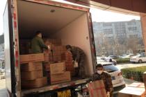 北京稻香村第二批捐贈糕點送至一線醫療單位