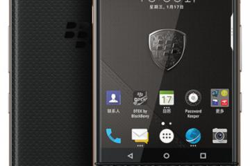 TCL8月停售 黑莓手機說再見