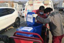 集中消毒处理  大兴区安定镇设废弃口罩回收车