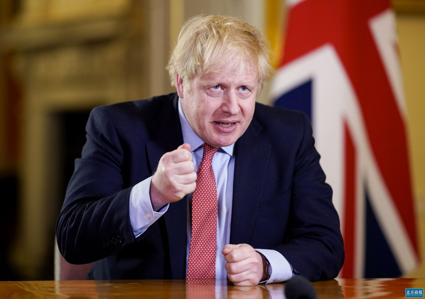 英国首相鲍里斯·约翰逊病情恶化封面