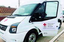 康宝莱爱心救护车抵汉交付 全力支援疫情攻坚战