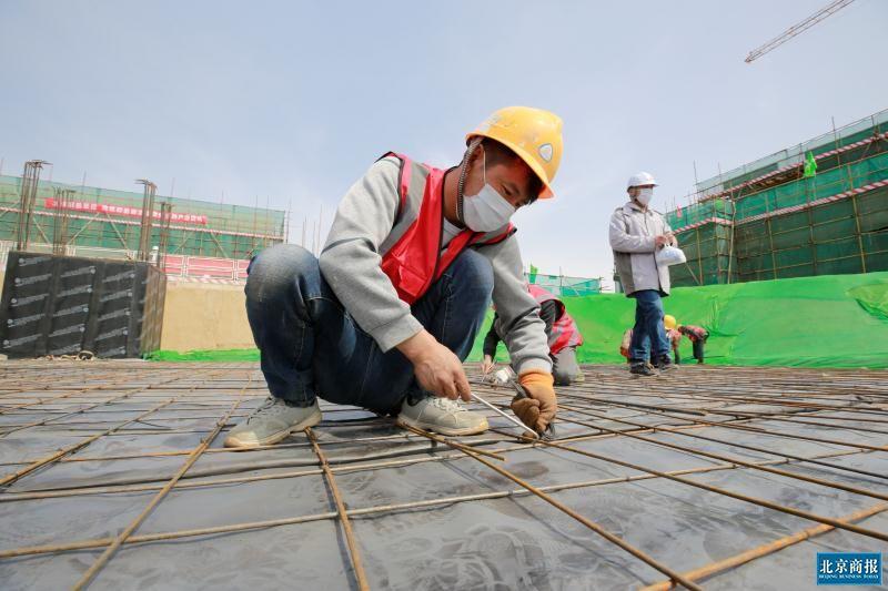 北京大兴国际机场11个在建项目实现100%复工
