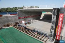 国内结构最高、跨度最宽、顶进难度最大 北京新机场临空经济区大礼路下穿京九铁路立交桥工程打通结点