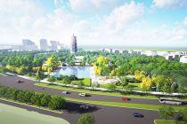 通州区三庙一塔南广场开建 将再现古塔凌云