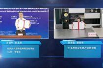 京冀首次线上联合推介大兴机场临空区项目 六大项目成功落地
